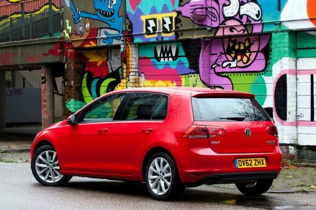Новый Volkswagen Golf VII фото