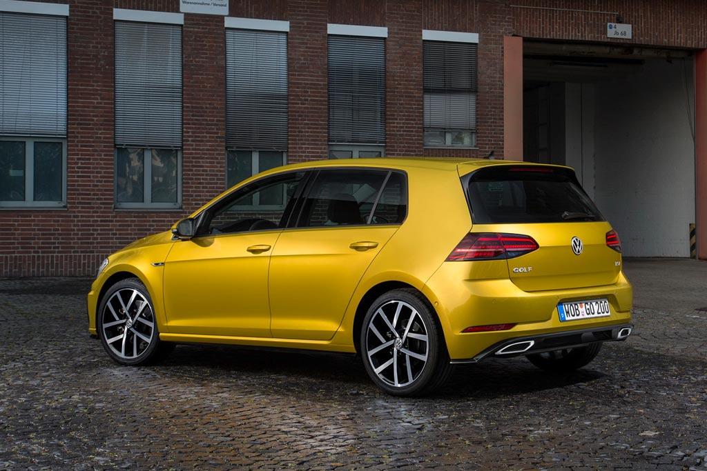 Обновленный VW Golf VII