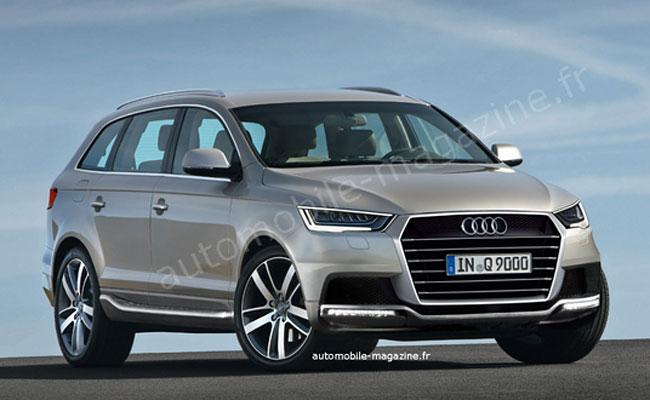 Рендер будущего Audi Q9