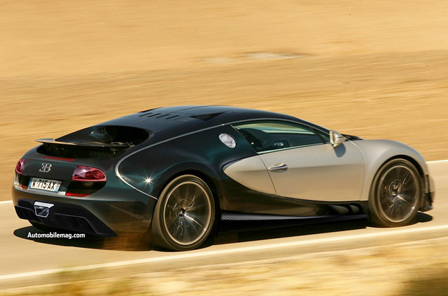 Рендер 1600-сильного Bugatti Super Veyron