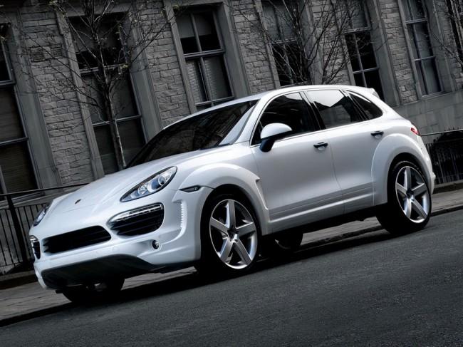 Обвес для нового Porsche Cayenne Diesel от Project Kahn