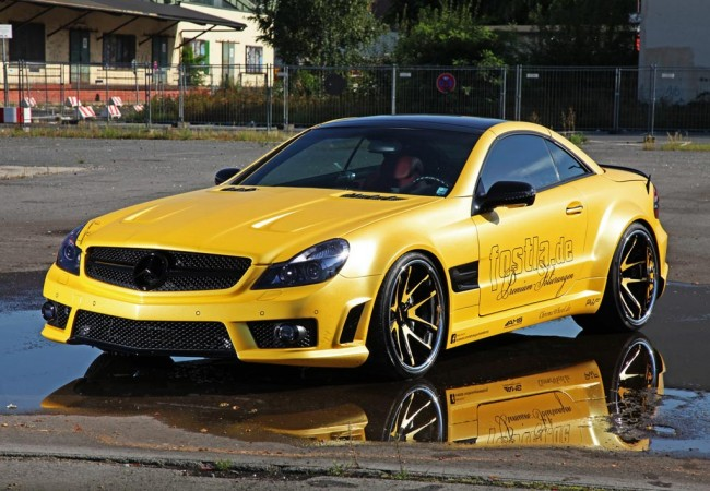 Тюнинг Mercedes-Benz SL55 AMG от ателье Fostla