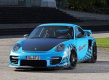 Фото тюнинг Порше 911 GT2 RS