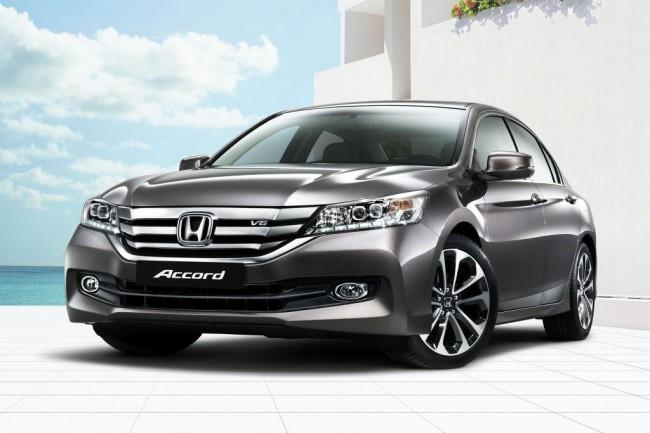 Honda Accord 2015 в новом кузове