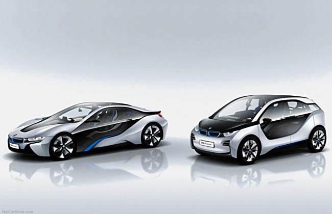 Автомобили суббренда BMW i