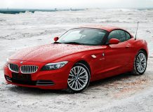 Красный BMW Z4 E89