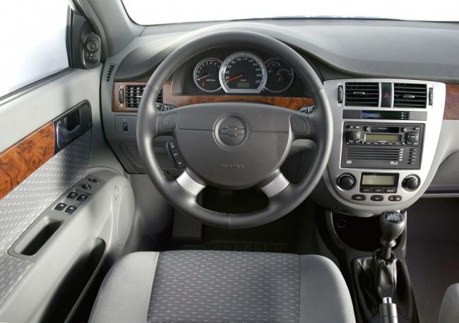 Салон Chevrolet Lacetti фото