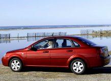 Фото Chevrolet Lacetti седан