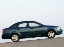 Chevrolet Lacetti седан фото