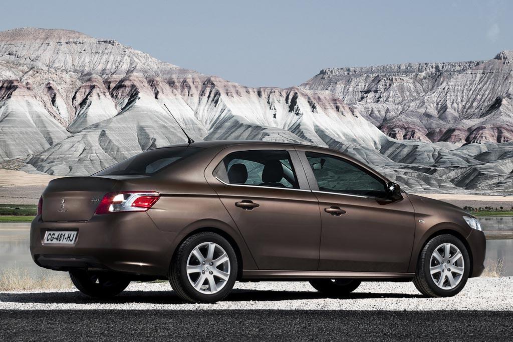 Бюджетный седан Peugeot 301