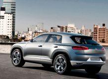 Фото концепта VW Cross Coupe