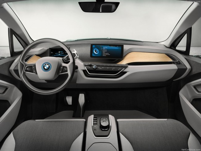 Фото салона БМВ i3 Concept Coupe