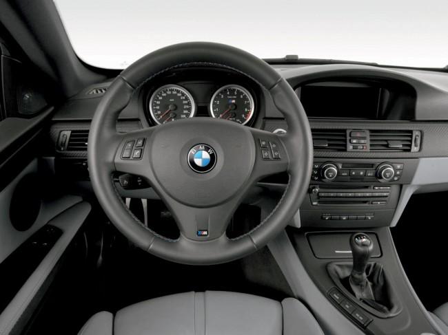 Фото салона БМВ M3 Coupe