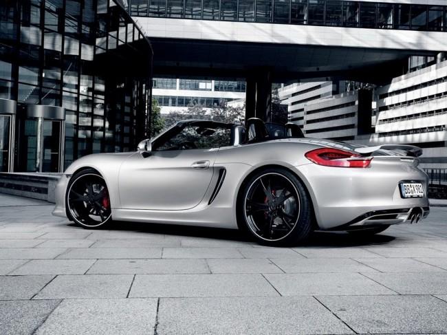 Тюнинг нового Porsche Boxster от ателье TechArt