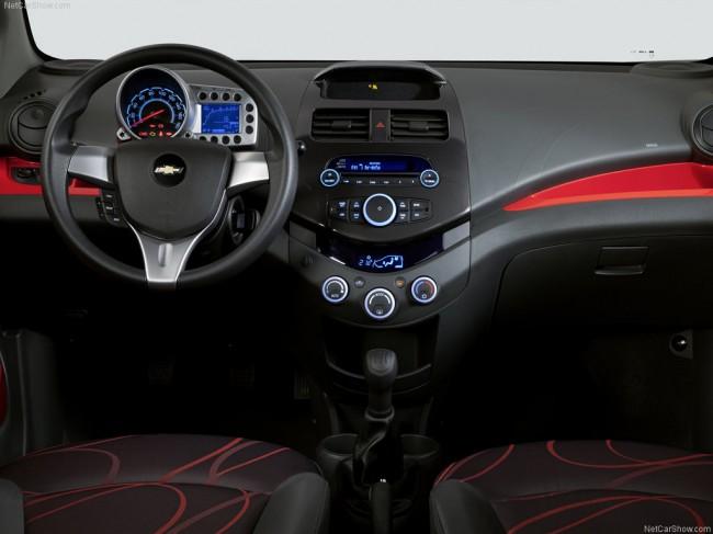Салон Chevrolet Spark III