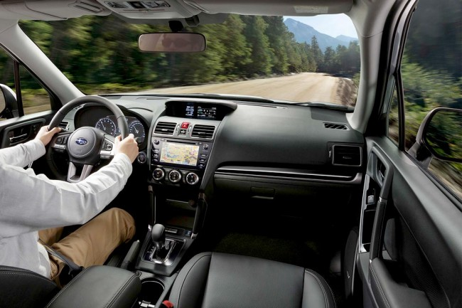 Салон Subaru Forester 4