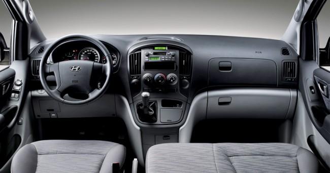 Салон Hyundai H1 Grand Starex
