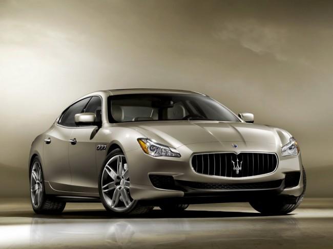 Новый Maserati Quattroporte VI