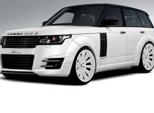 Lumma готовит обвес для Range Rover 2013