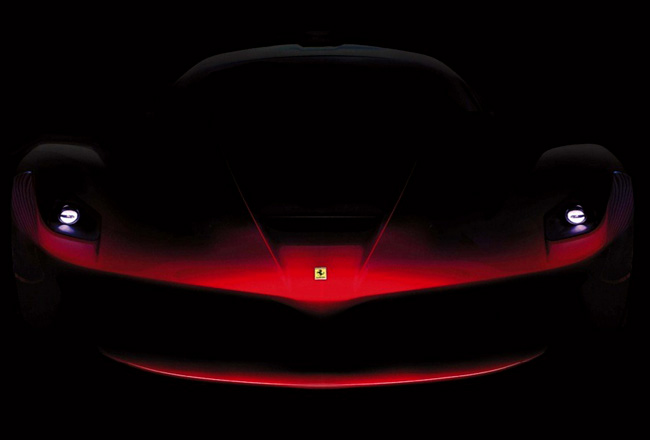 Тизер нового суперкара Ferrari