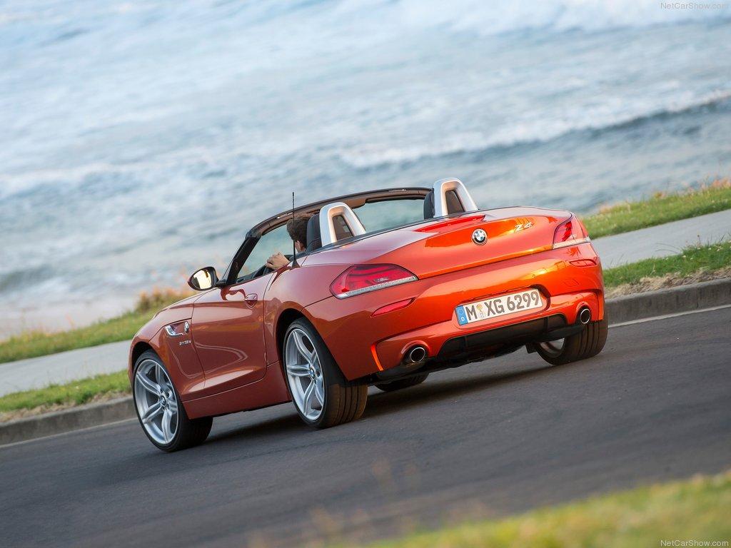 Фото новой BMW Z4 2014