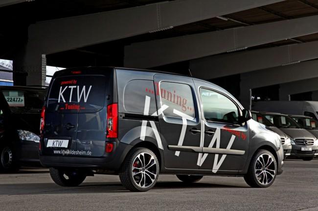 В ателье KTW Tuning доработали фургон Mercedes Citan
