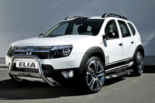 Новый тюнинг-пакет для Renault Duster от Elia