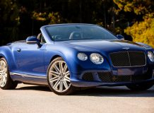 Фото Bentley Continental GT Speed Convertible