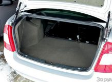 Лада Калина седан багажник