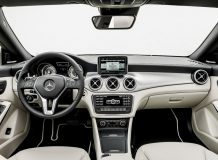 Салон Mercedes CLA фото