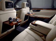 Интерьер Mercedes W221 фото