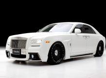 Фото тюнинг Rolls-Royce Ghost от Wald
