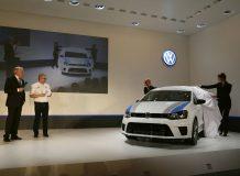 Фото с презентации VW Polo R WRC
