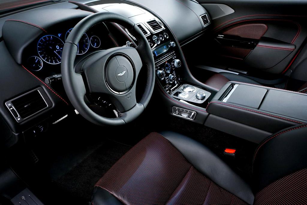 Салон Aston Martin Rapide S фото