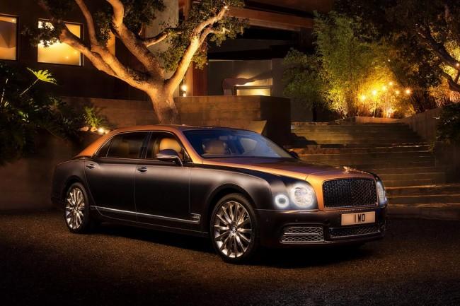 Роскошный седан Bentley Mulsanne EWB