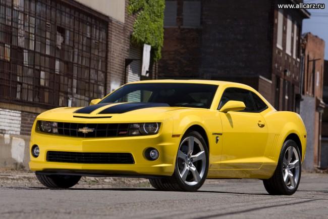 Фото Chevrolet Camaro Transformers Edition