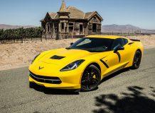 Фото нового Corvette C7 2016