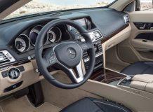 Салон Mercedes E-Class кабриолет фото