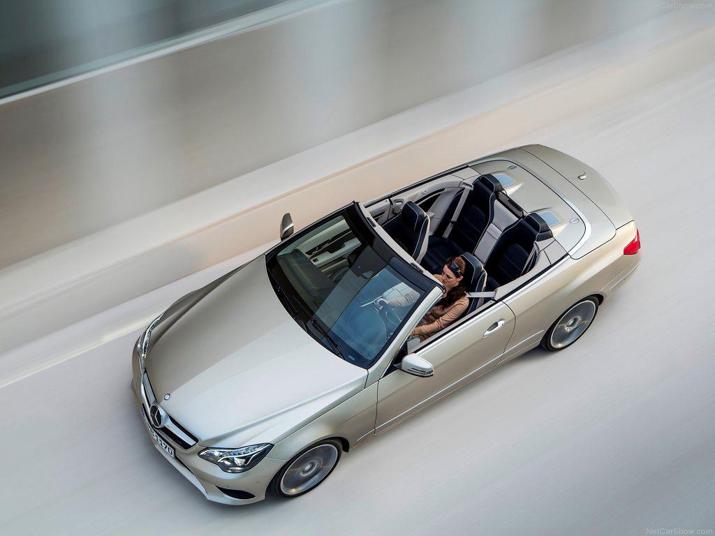 Mercedes-Benz E-Class Convertible фото