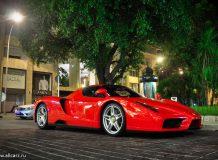 Красный Ferrari Enzo фото