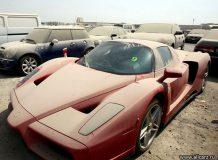 Брошенный в Дубае Ferrari Enzo