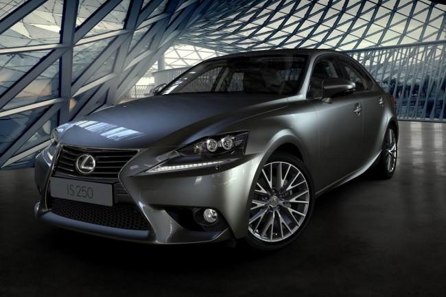 Новый Lexus IS 3 поколения