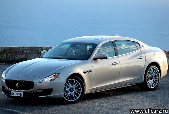 Maserati Quattroporte VI фото