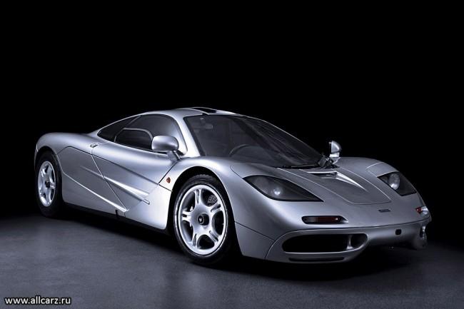 Фото суперкара McLaren F1