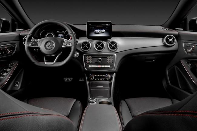 Салон Mercedes-Benz CLA-Class