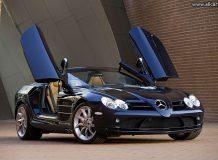 Mercedes SLR Roadster фото