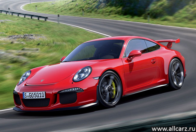 Porsche 911 GT3 фото
