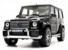 Диски на Mercedes G от Brabus фото