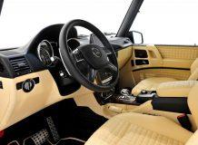 Тюнинг салона Mercedes G фото