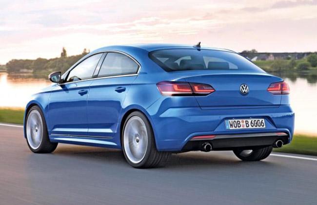 Рендер будущего Volkswagen Golf CC